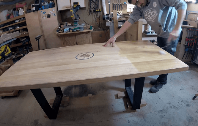 table design en bois DIY